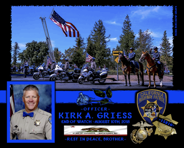 In Memoriam Motor Officer Kirk Griess