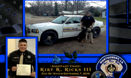 In Memoriam Assistant Chief Kirt Ricks III