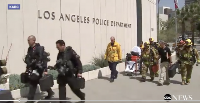 Woman Claims to Throw Ashes of Dead Niece on LAPD Chief Charlie Beck