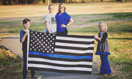 How to Give Support to the Police Wife Who Does It All