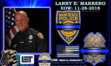 In Memoriam Detective Larry Marrero