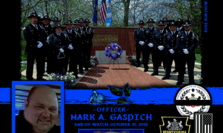 In Memoriam Corrections Officer Mark Gaspich