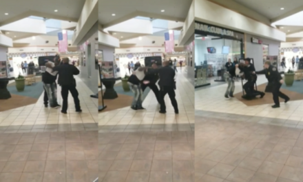 Video: Suspect Tased at Mall of Abilene