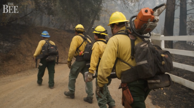 Blue Wives Connect With CAMP FIRE Victims