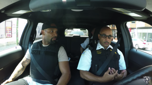 Kid Tells Former NFL Star Matt Forte 'F*** You Cop' While He's on a Ride-Along