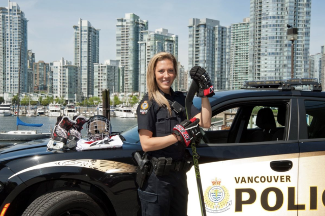 Canadian Hockey Star Doubles as a Cop