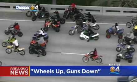 'Wheels Up, Guns Down' Pre-Event Turns Into Mockery