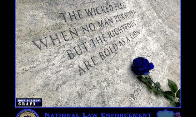 Some Reflections Approaching Police Week
