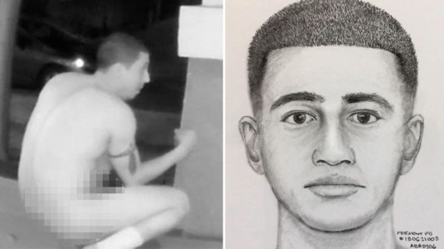 Nude Lewd Dude Sought by Bay Area Police