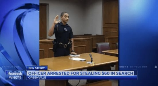 Petty Theft Will Likely End Career of Young Officer