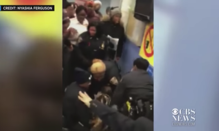 Video of officers trying to remove baby from arrestee reaches the nation
