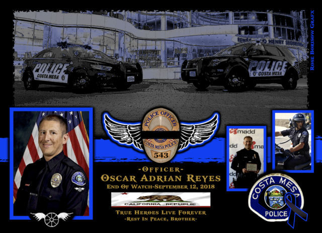 In Memoriam Motor Officer Oscar Reyes