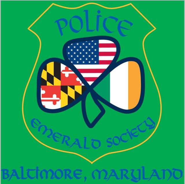 (Police Emerald Society of Baltimore Logo, from their website, www.pesbaltimore.org)
