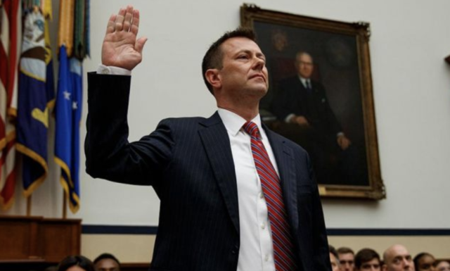 Peter Strzok Fired