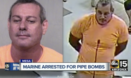 Former Marine Arrested Possessing More Than 40 Pipe Bombs