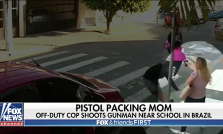 Pistol Packing Mom Caps Gunman at Mother's Day Event