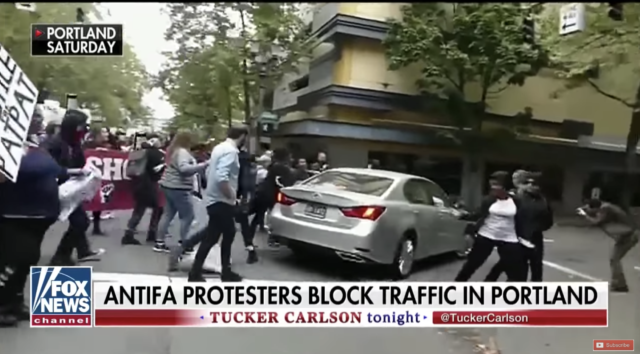 Portland Mayor Comes Under Fire After Allowing Protesters to Control