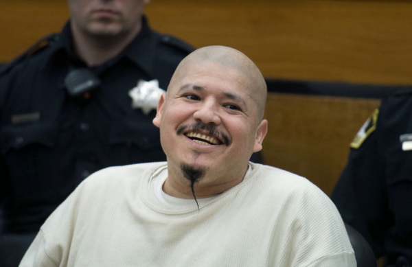 Reprobate Cop Killer Interrupts, Smirks as Death Sentence Announced