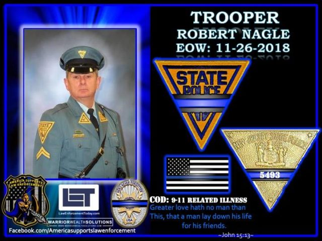 In Memoriam Trooper Robert Nagle