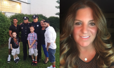 Wife of injured police officer begs city leaders: Please don't abandon our family