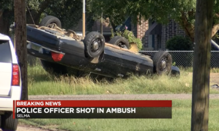 Selma Police Officer Ambushed by Sniper