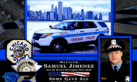 In Memoriam Officer Samuel Jimenez