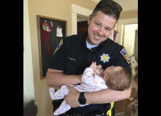 California Cop Adopts Baby of Homeless Woman