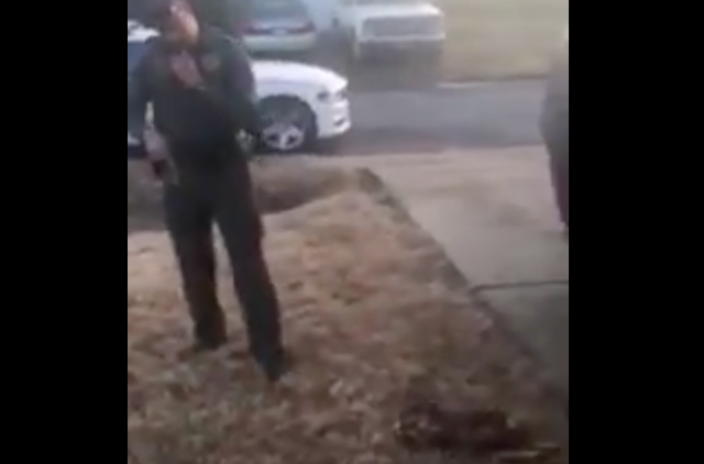 GRAPHIC VIDEO: Arkansas Deputy fired after shooting dog