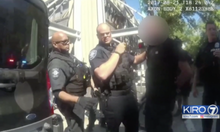 Seattle Police Officer Faces Discipline When He Should Be Commended
