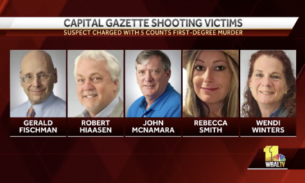 Homicidal Suspect at Capital Gazette Had Vendetta Against Paper