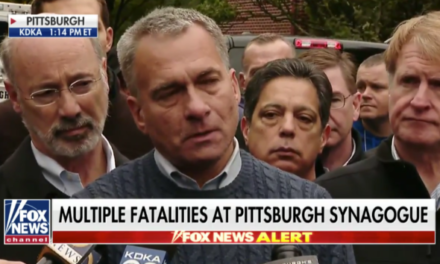 Pittsburgh synagogue gunman kills 11 people, four officers among the injured