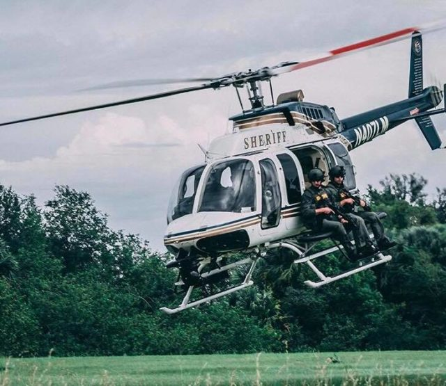 When it's 'Game on' Police Aviation Arrives on Scene