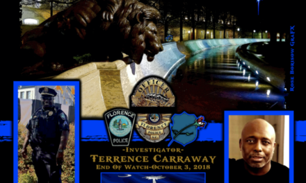 In Memoriam Officer Terrence Carraway