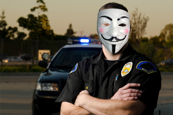 Cop: Ok, I'm Done. It's Time For The Purge.