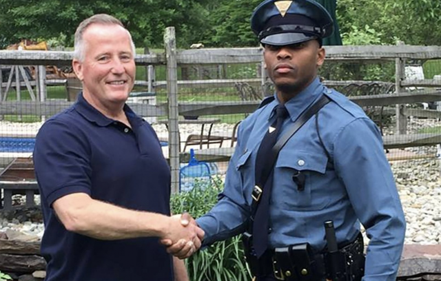 New Jersey State Trooper Pulls Over Driver Who Delivered Him 27 Years Ago