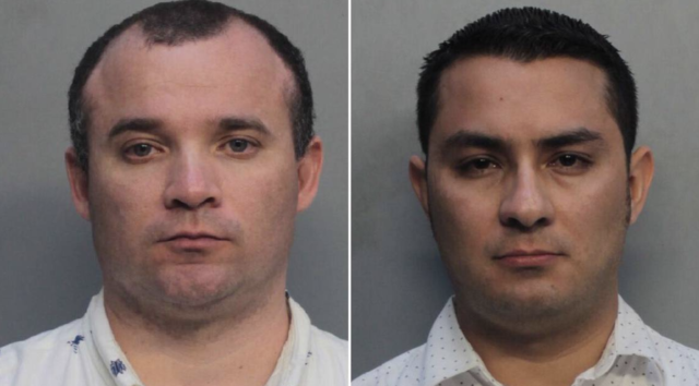 Two Catholic priests arrested performing sex acts in public
