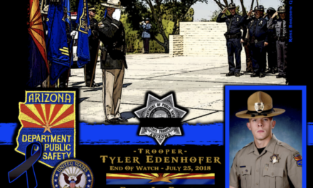 In Memoriam Trooper Tyler Edenhofer