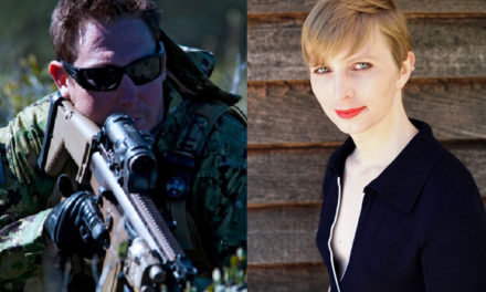 Felon Chelsea Manning To Stay Behind Bars.  Navy SEAL Weighs In.