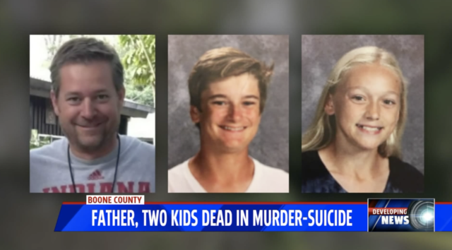 Indiana teenagers killed by suicidal father
