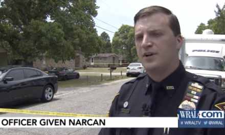 Officer Treated With Narcan After Being Exposed to Fentanyl