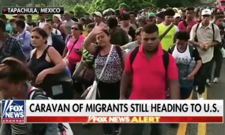 'Turn around' is the message President Trump tweets to migrant caravan